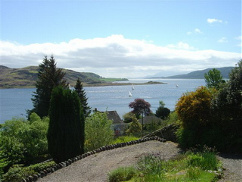 A reminder of our wonderful environment – a view down the Kyles of Bute