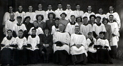 A Choir photograph from the collection of the late Mrs M Jones