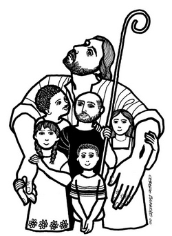 The Good Shepherd, as illustrated by Cerezo Barredo