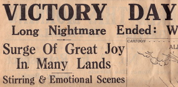 Headline from the South Wales Echo, No. 19,142, price 1½d!